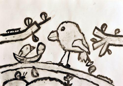 Nik Perc Benko: Ptičji mladič