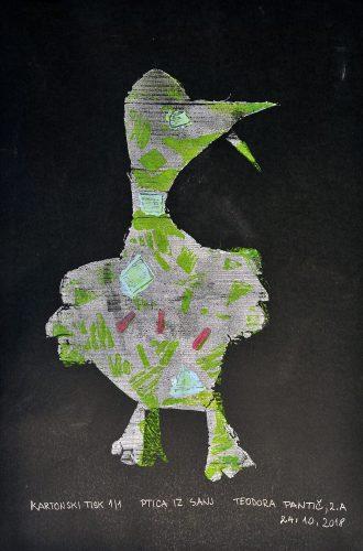 Teodora Pantić: Ptica iz sanj