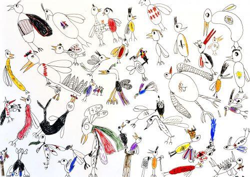 Tjob Mazi Petrič: Ptiči od tu in vse do vesolja