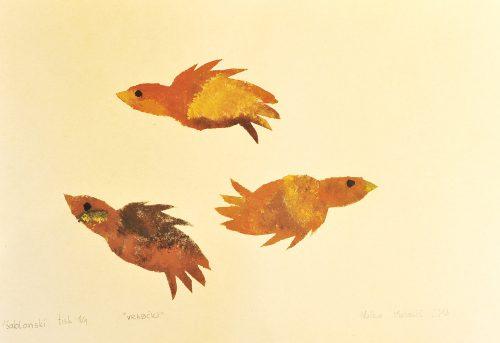 Nuša Matelič: Vrabčki