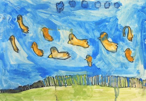 Mark Mramor: Trsje in ptice