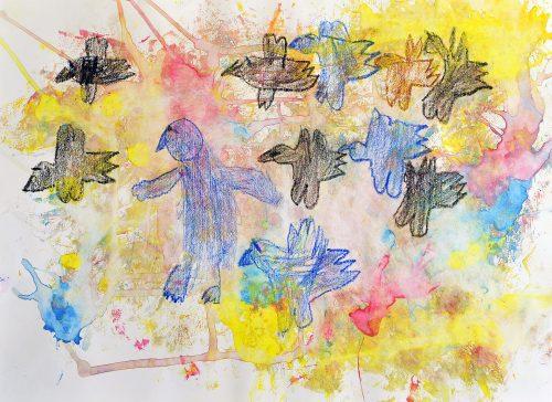 Iris Mahne: Ptice se selijo