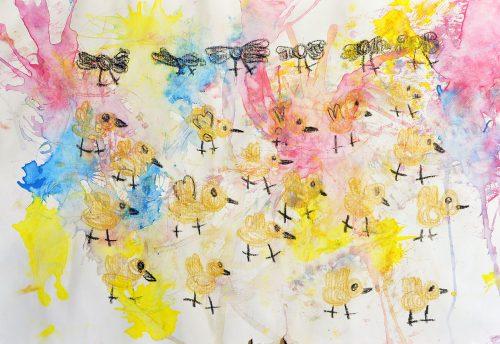 Katarina Gorjanc: Ptice se selijo
