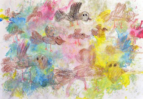 Klara Kaduns: Ptice se selijo