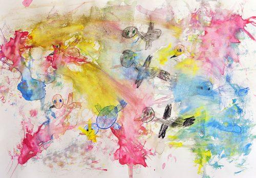 Manca Kovačič: Ptice se selijo
