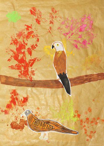 Žana Mrak: Skrivnostne ptice in jesenske barve