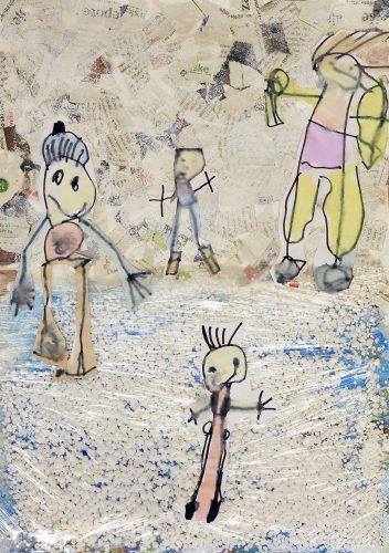 Vrtec Martin Krpan Cerknica, skupina Sovice: Drsanje na jezeru (3D)