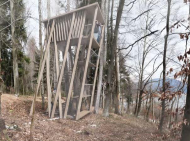 """Takole bo videti opazovalnica """"stolp"""", visoka 10 metrov, ki bo mudila krasne razglede"""