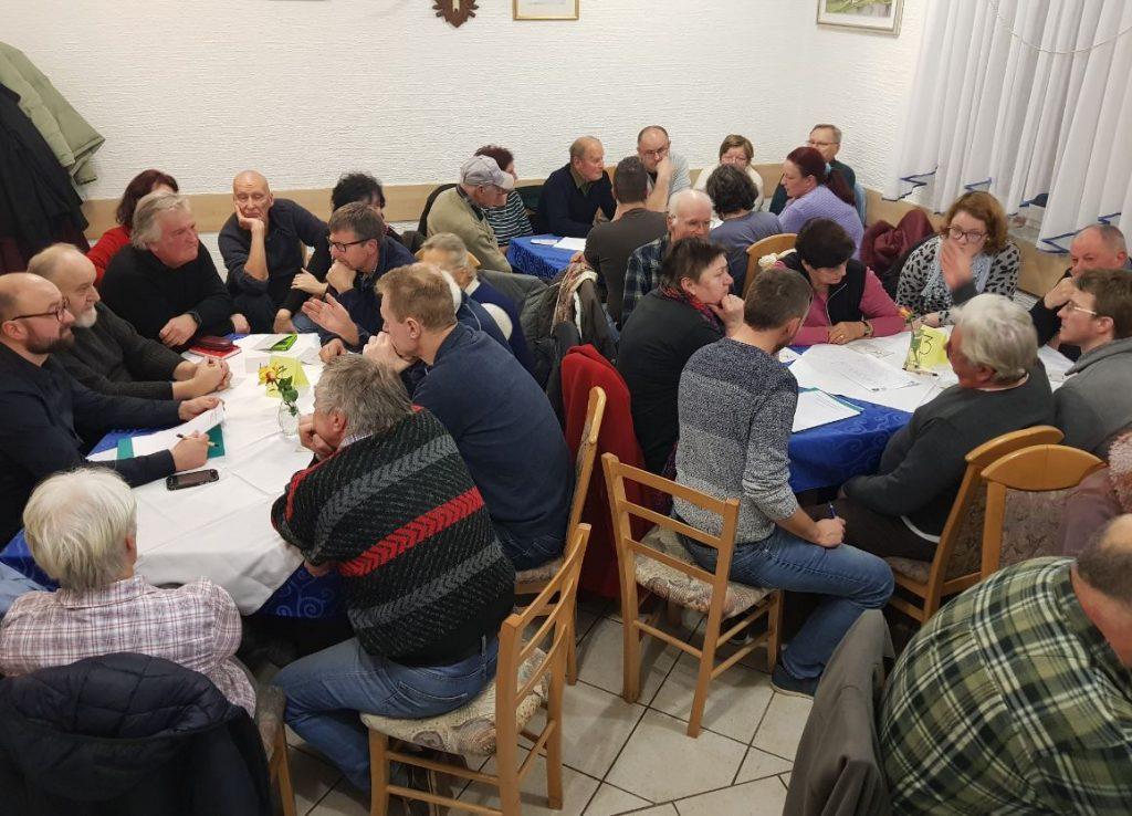 Srečanje s prebivalci Gorenjega Jezera v januarju 2019