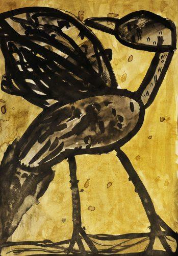 Veronika Lampe: Čaplja si čisti perje