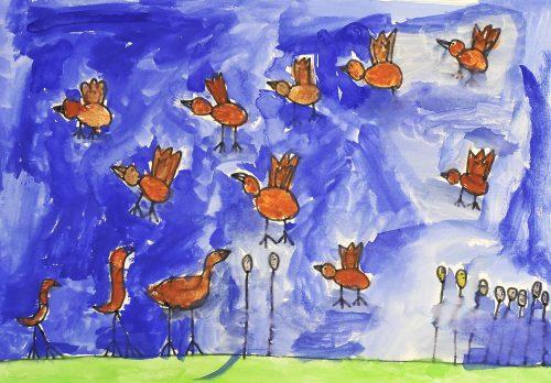 Ela Žagar: Bobnarice v zraku