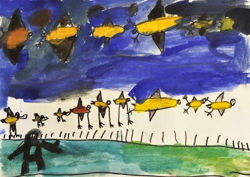 Tim Šajn Drobne: Bobnarice iščejo