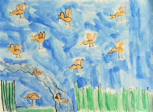 Ana Doles: Bobnarice nad jezerom
