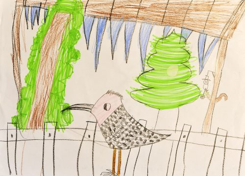 Samo Planinšek: Prelep ptič v objemu ledu in dreves