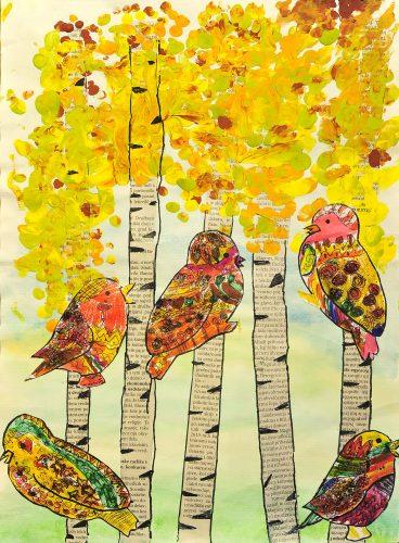Ina Begič: Čarobne ptice