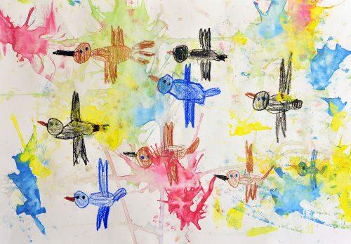 Klara Modec: Ptice se selijo