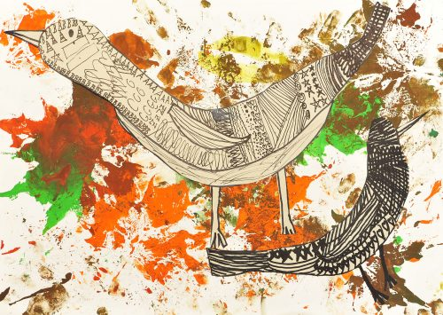 Maruša Laznik: Skrivnostna ptica
