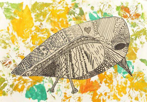 Ema Berglez: Skrivnostna ptica