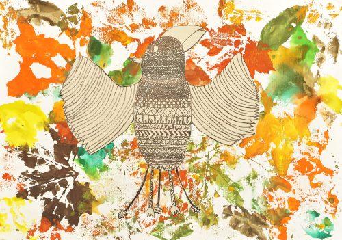 Klavdia Mei Petrovčič: Skrivnostna ptica