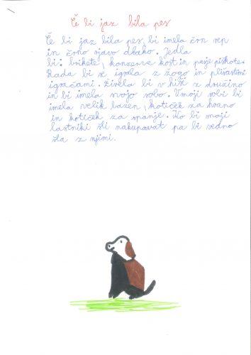 Alina Žižek: Če bi jaz bila pes