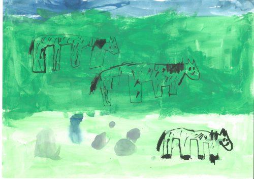 Brina Kranjc: Konjska družina