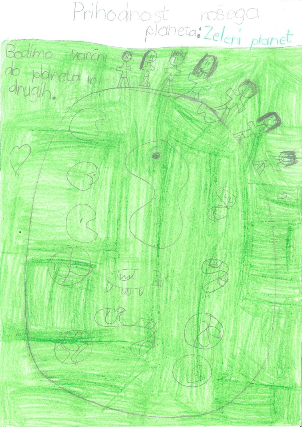 Hana Otrin: Prihodnost našega planeta - Zeleni planet planeta - Zeleni planetNA OTRIN