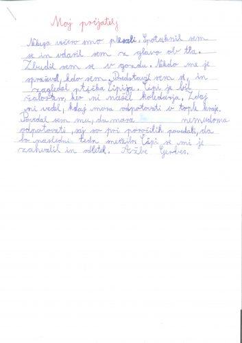 Ažbe Gerbec: Moj prijatelj