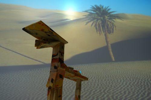 Sara Pisnjak: Kamela v puščavi