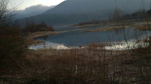Vita Širaj: Zima na jezeru