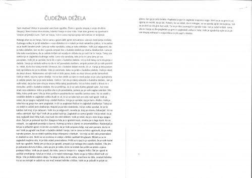 Tinkara Simčič: Čudežna dežela