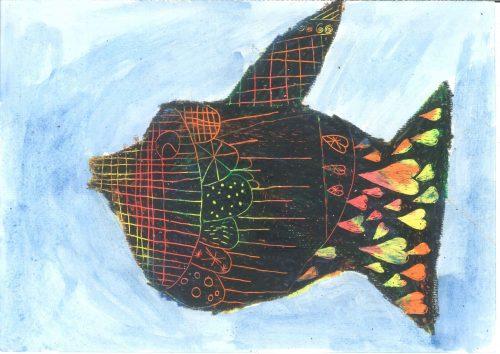 Zarja Mikuž: Mavrična ribica