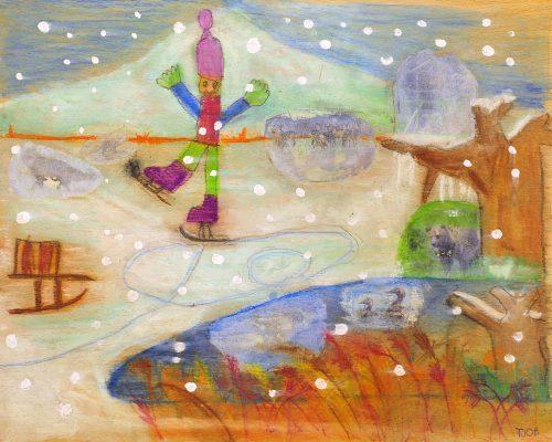 Tjob Mazi Petrič: Zima na jezeru