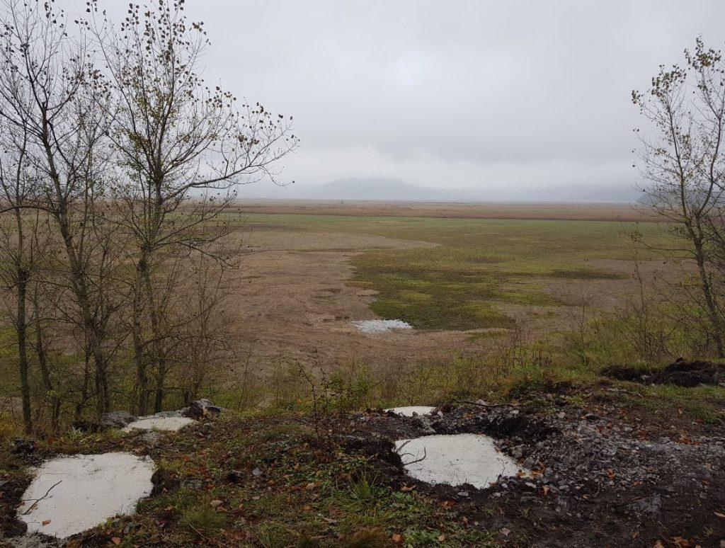 Pogled z razgledne točke Kleni vrh