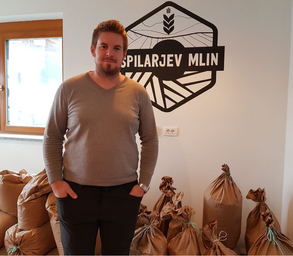 Ervin Andrejčič z uspešno zgodbo Špilarjevega mlina