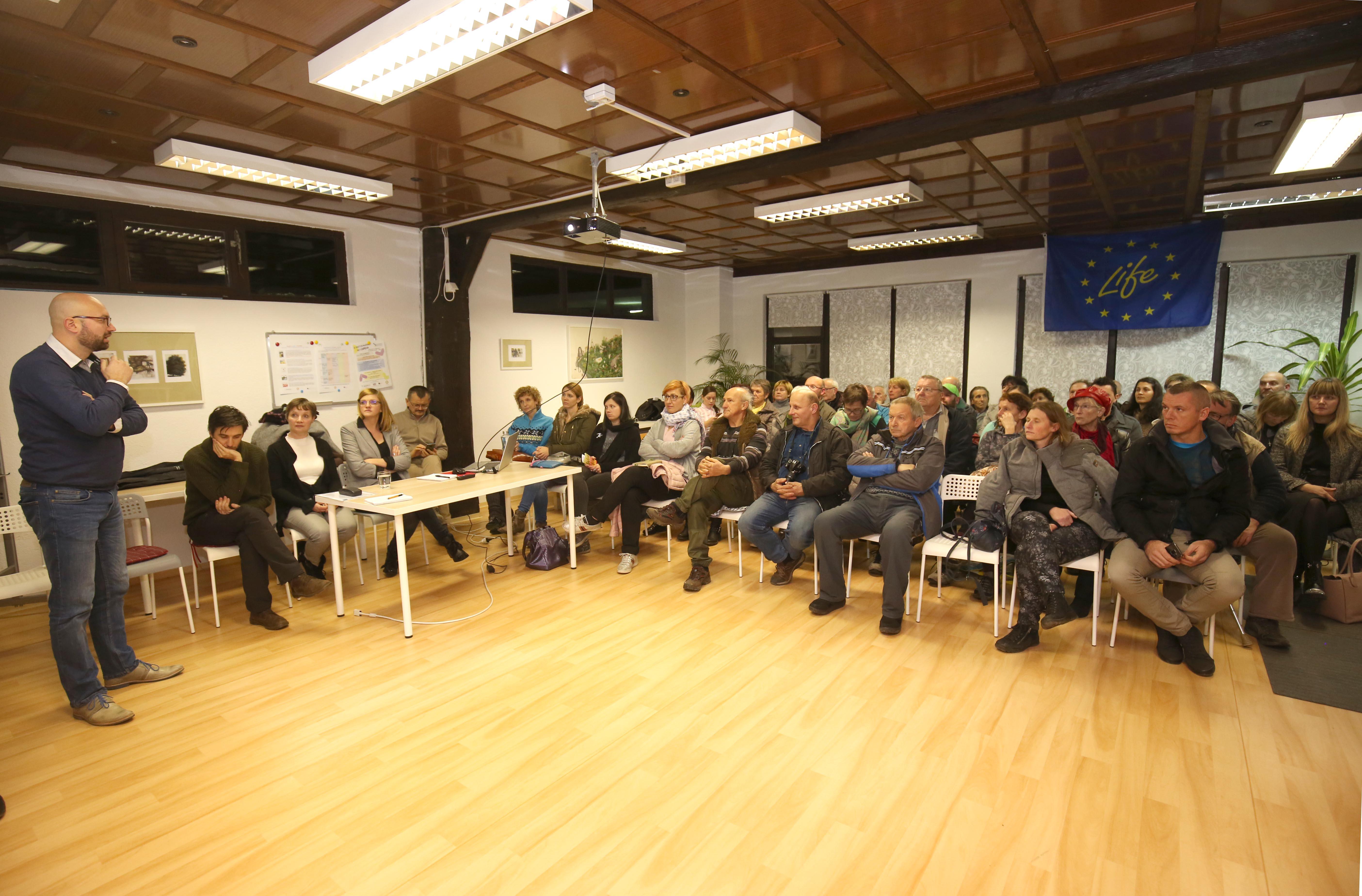 Srečanje z vsemi, ki so pomembni za razvoj turizma na območju Notranjskega parka
