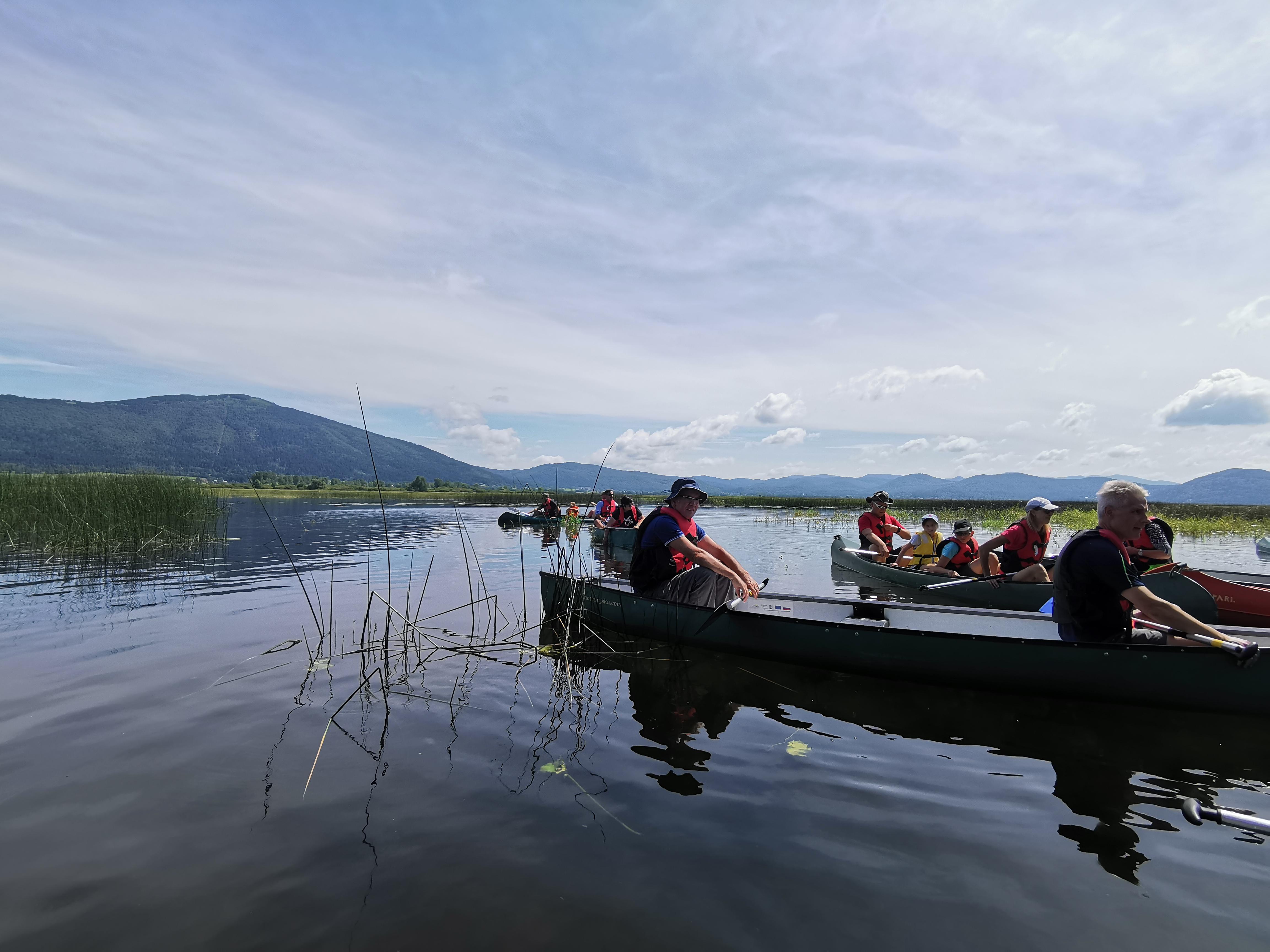 V soboto bodo udeleženci ptice opazovali iz kanujev.