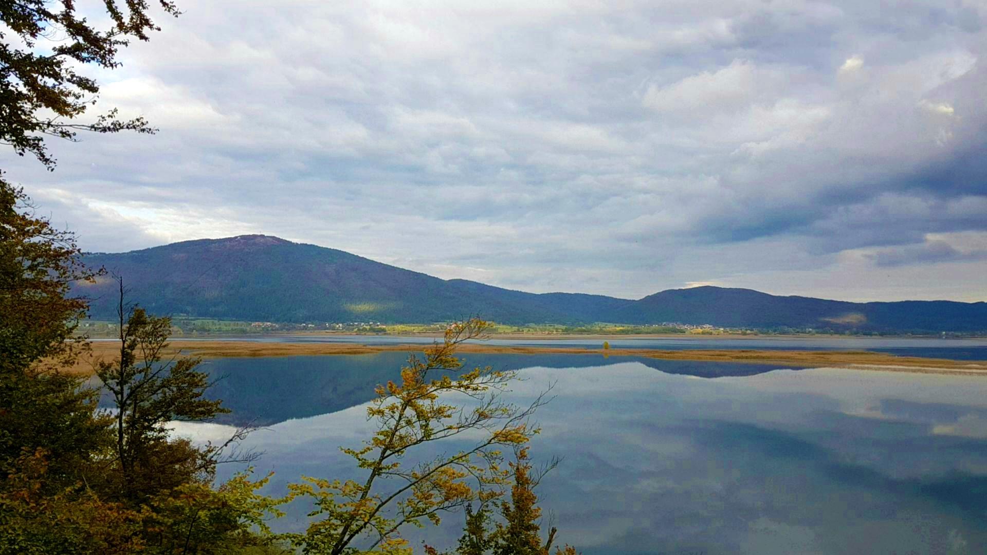 Eden od razgledov na poti Drvošec. Foto Eva Kobe