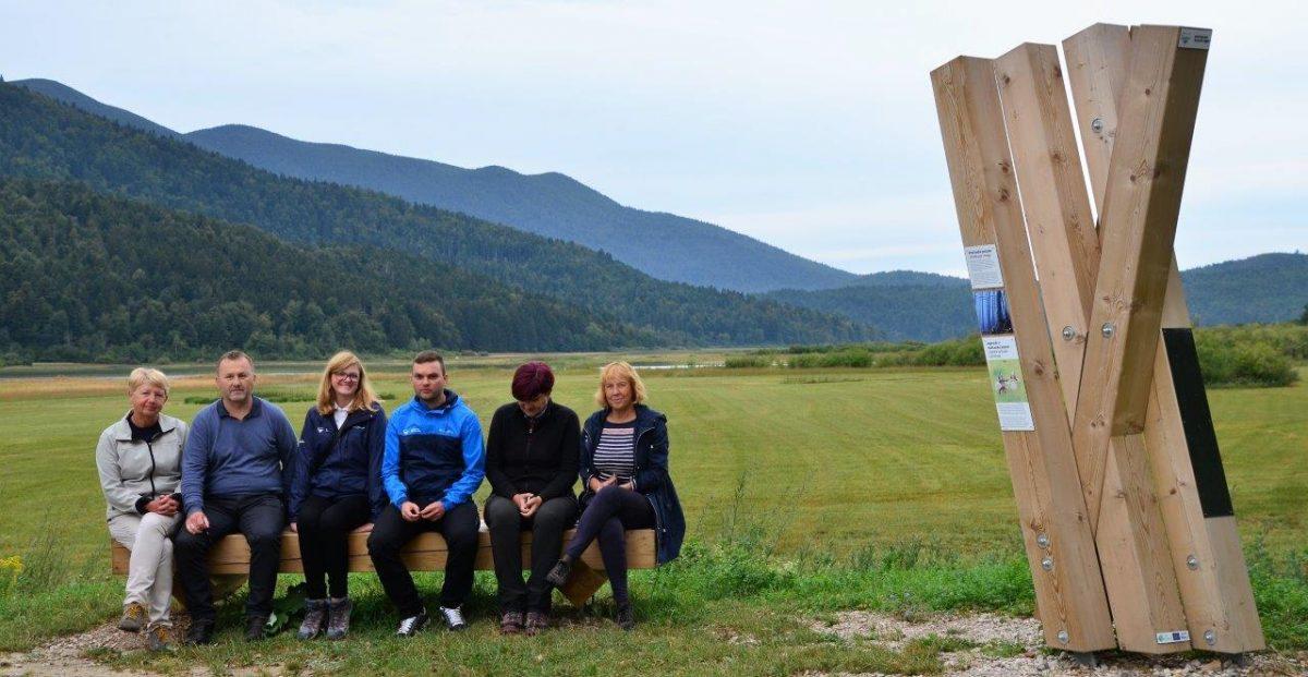 Ocenjevalna komisija na poti Drvošec. Foto Jože Prah