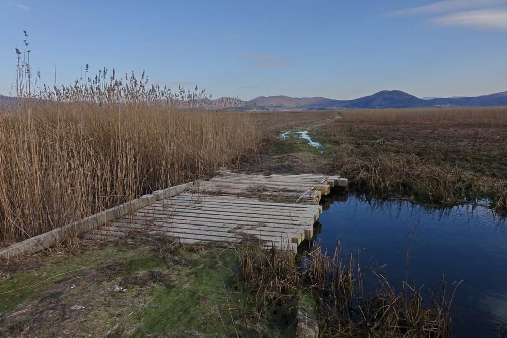 Izjemno Cerkniško jezero.